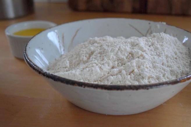 Flour for pancakes